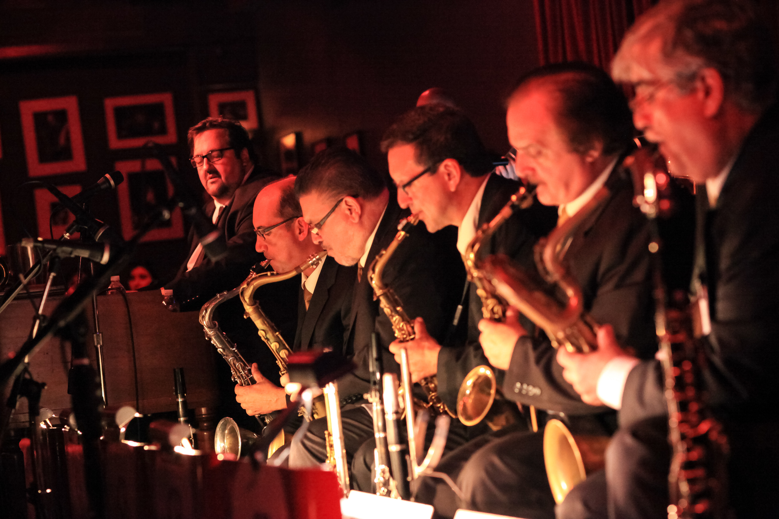 Copy of Swinging Sax Section
