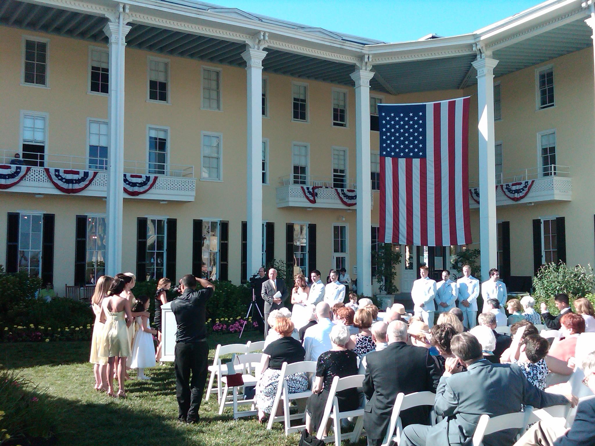Wedding at Congress Hall, Cape May