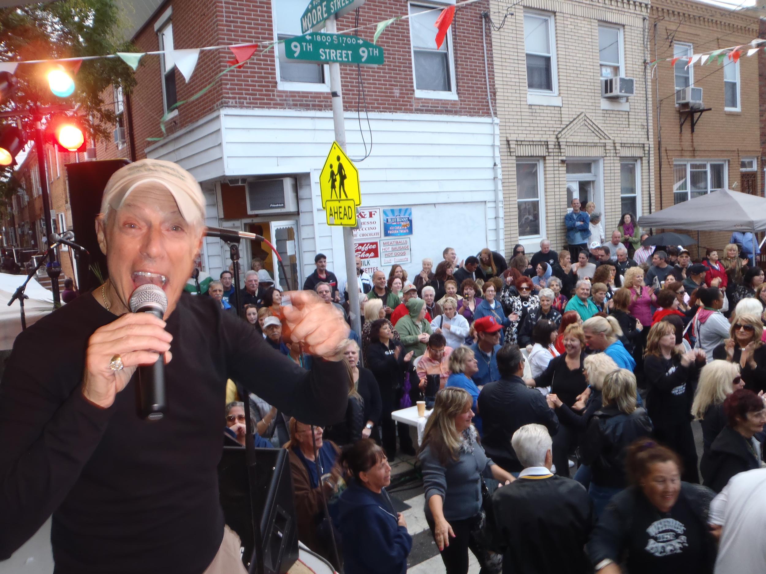 Jerry Blavat at Italian Festival