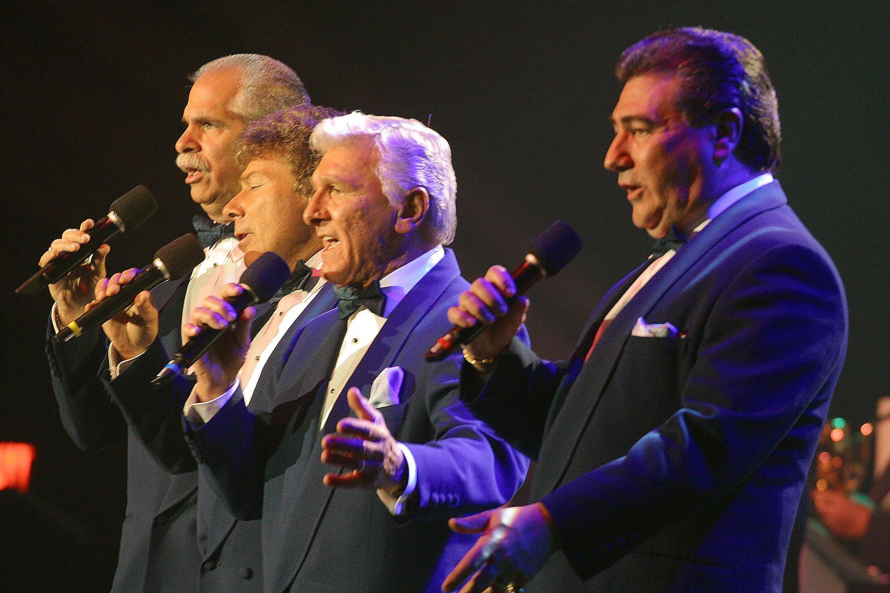 Four Aces at Italian Festival