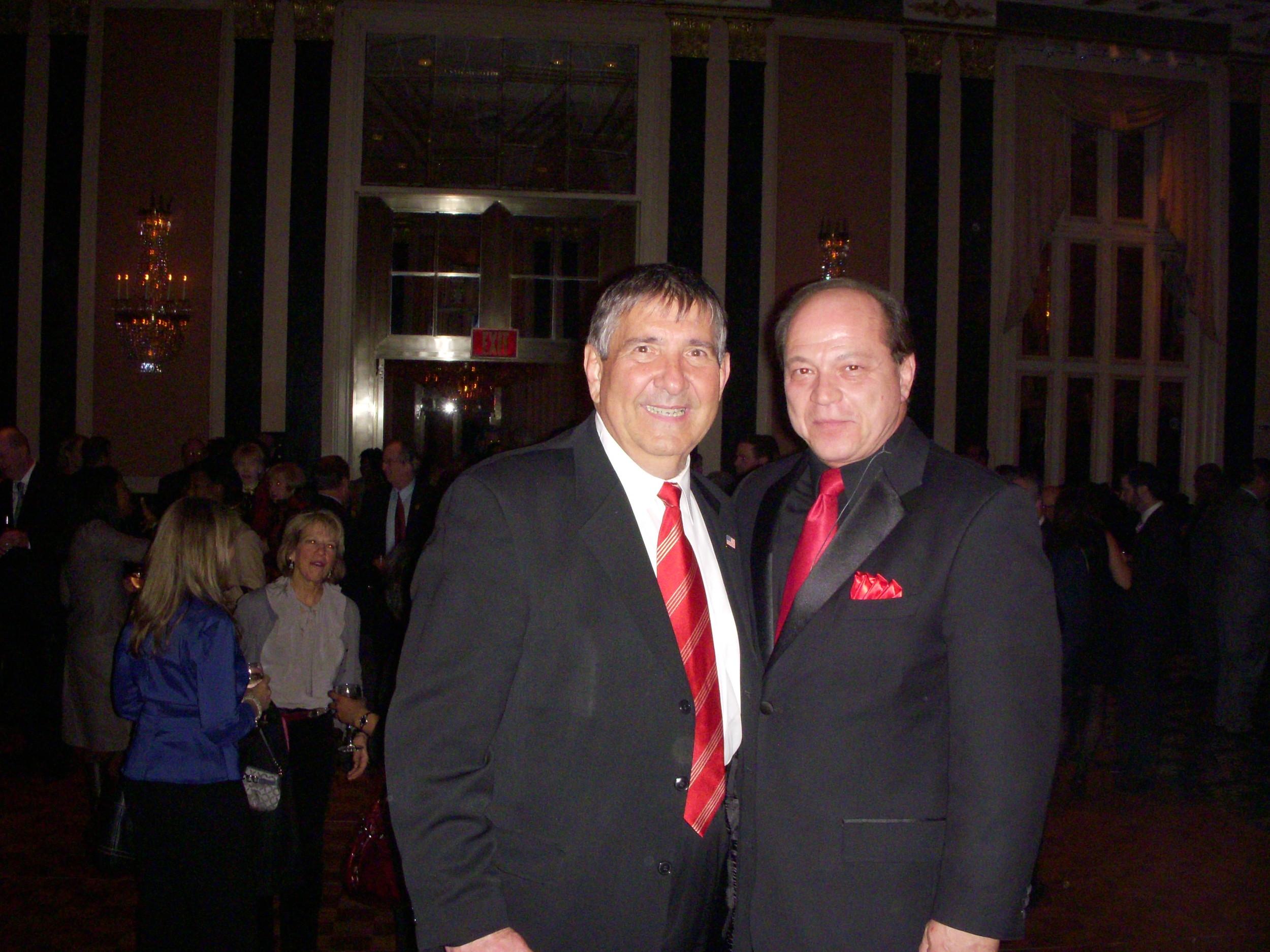 Waldorf Astoria with Frank Rizzo