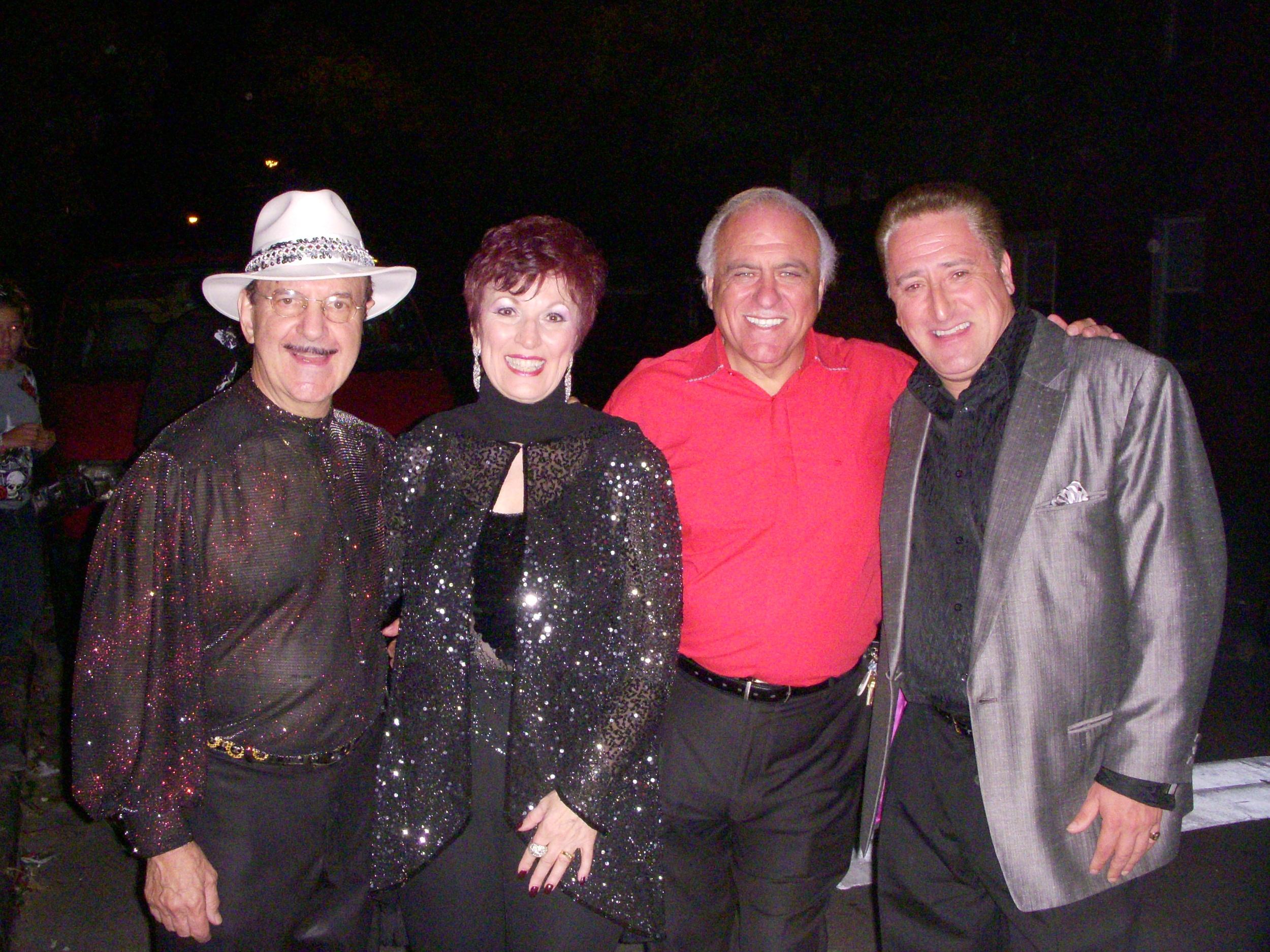Mario Tacca, Mary Mancini, Nick Desiderio, Ray Gelato