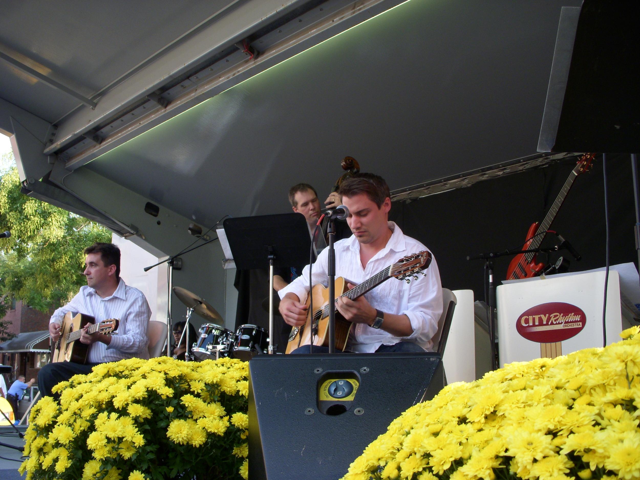 Gypsy Guitarist Kruno at Festival