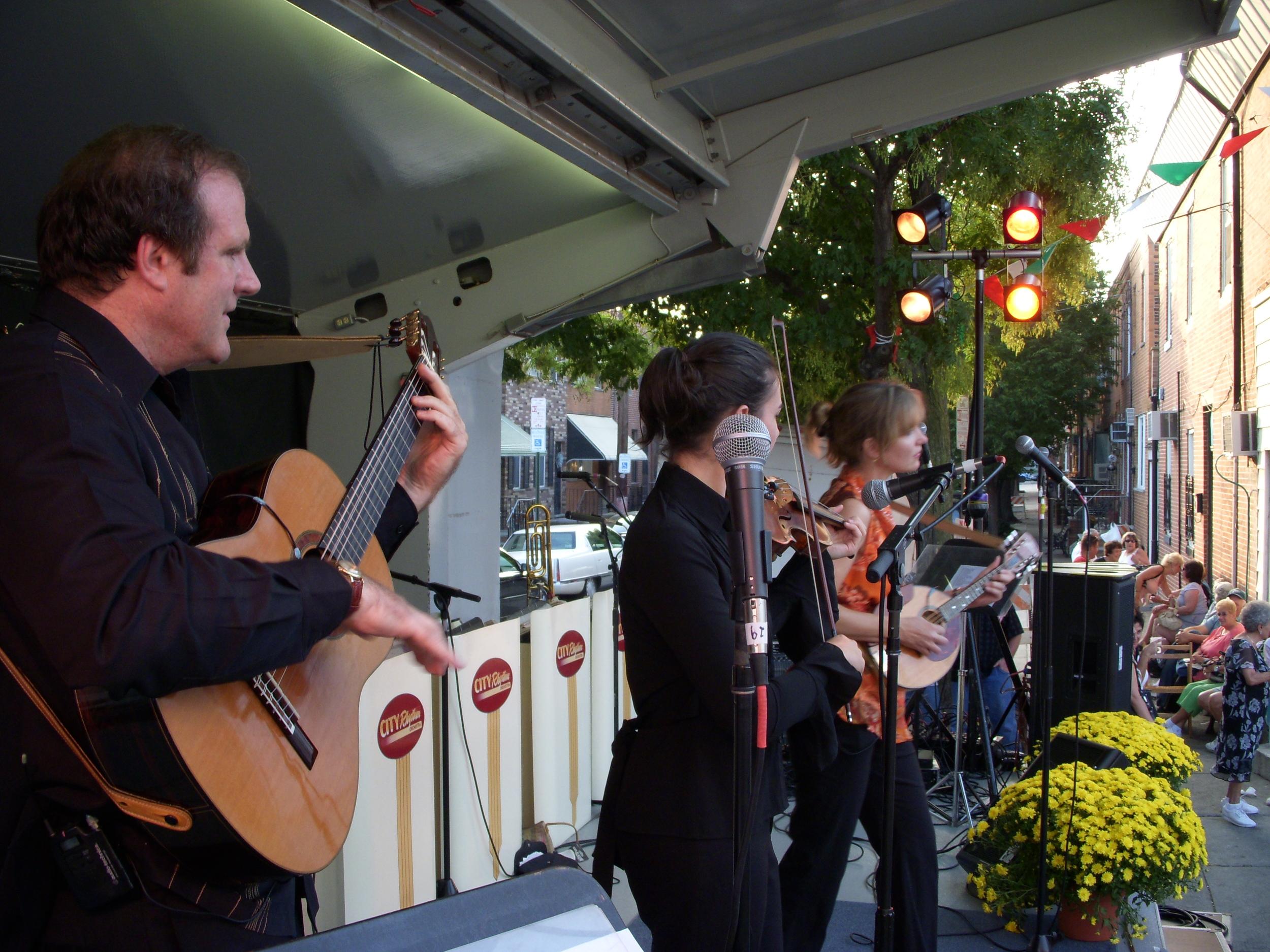 Kraft Strings at Festival