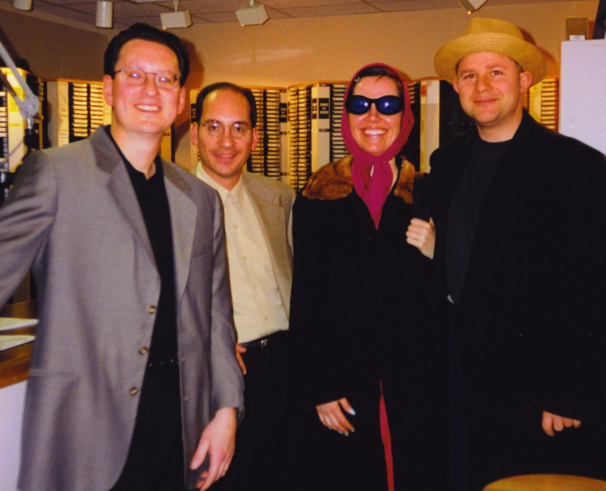 Lavay Smith & Chris Siebert at WPEN Studios