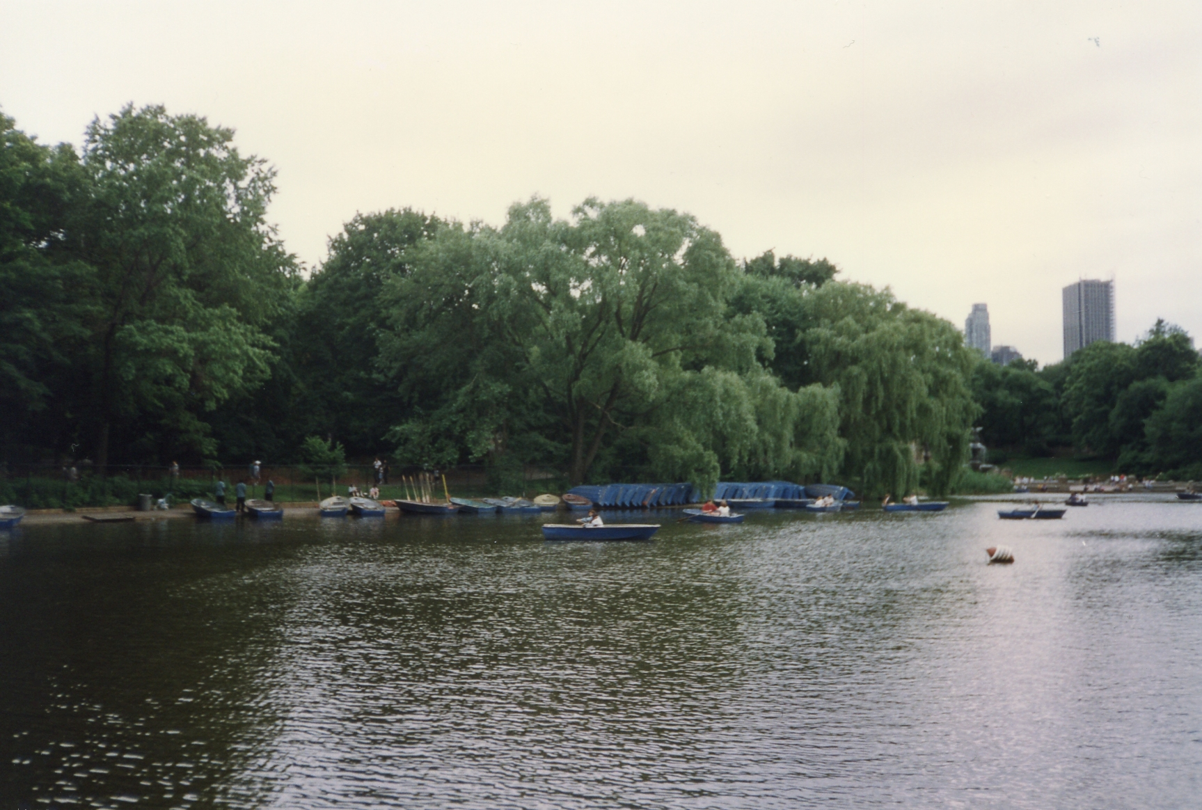 Boathouse in Central Park, New York