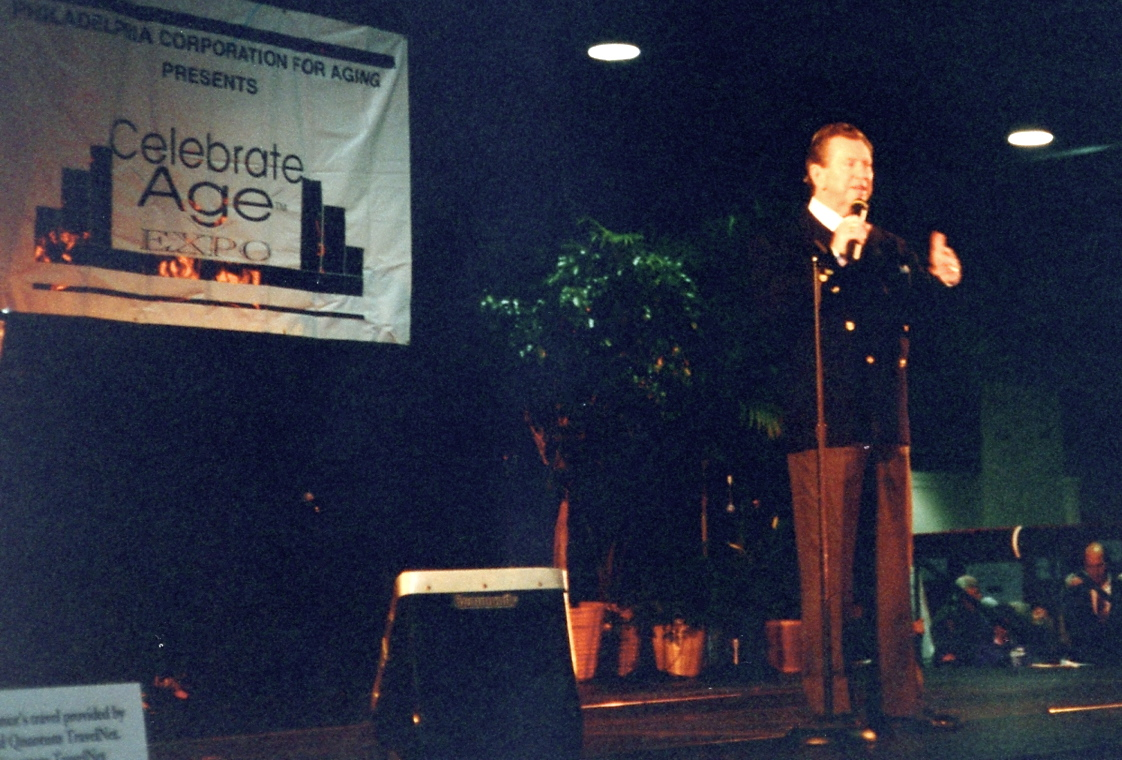 Donald O'Connor, Philadelphia Convention Center