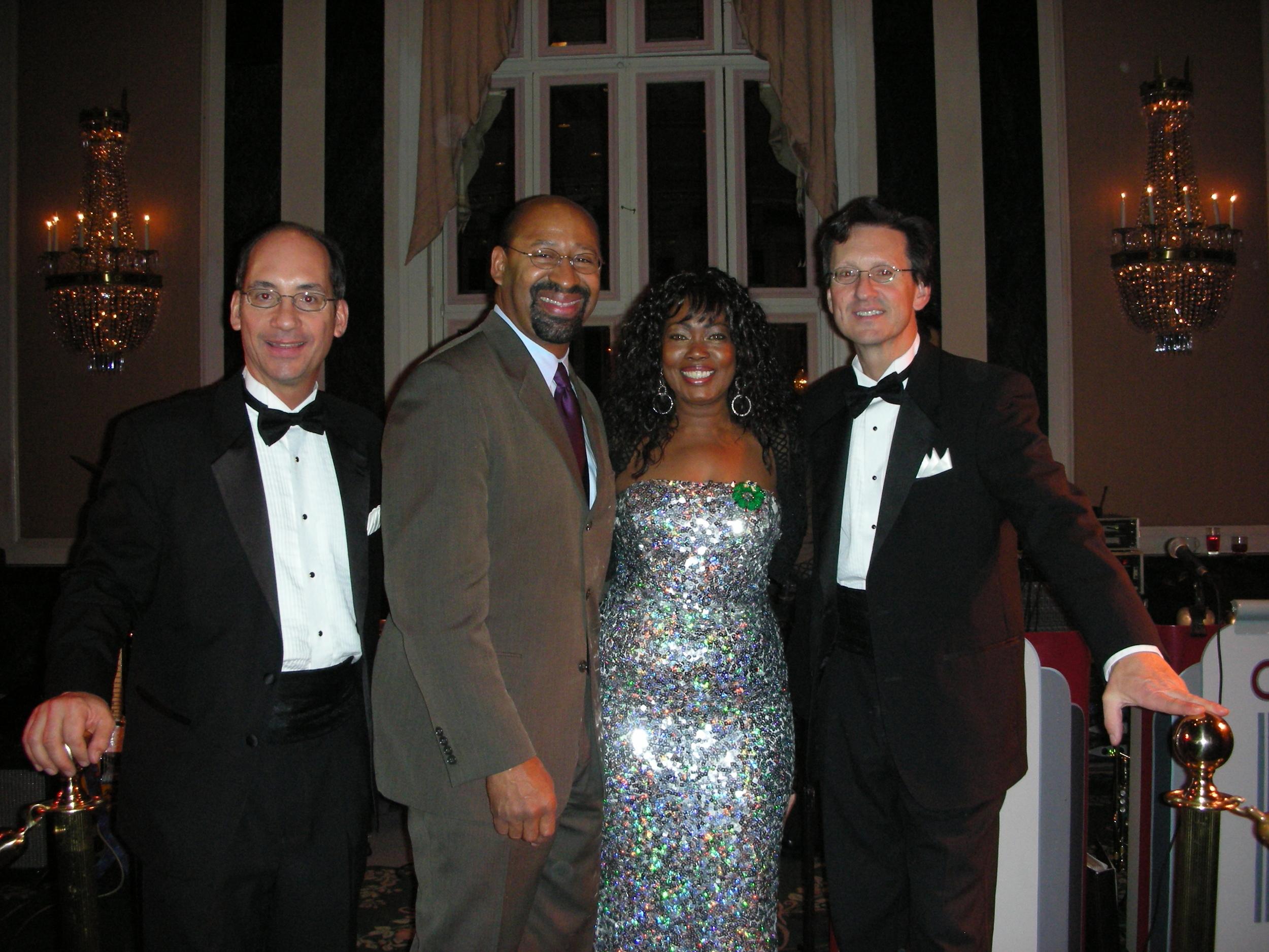 Mayor Nutter, Waldorf Astoria, New York
