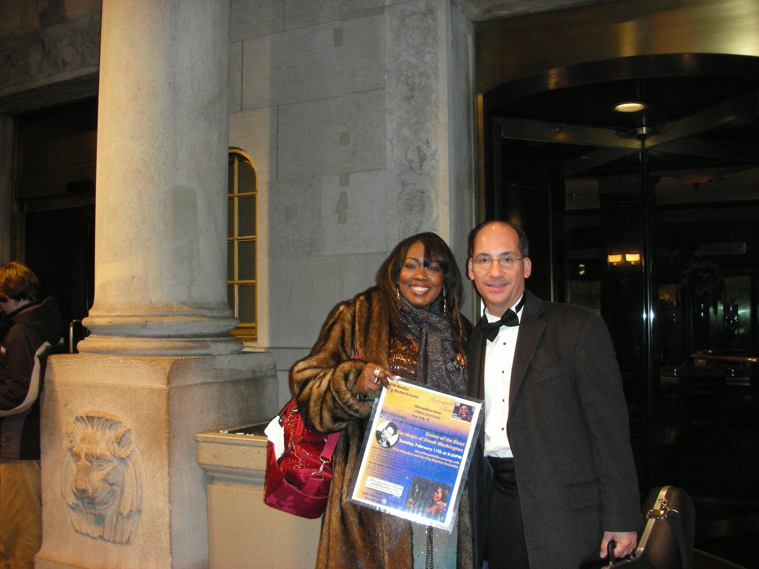 Metropolitan Room, New York City Dinah Washington Tribute