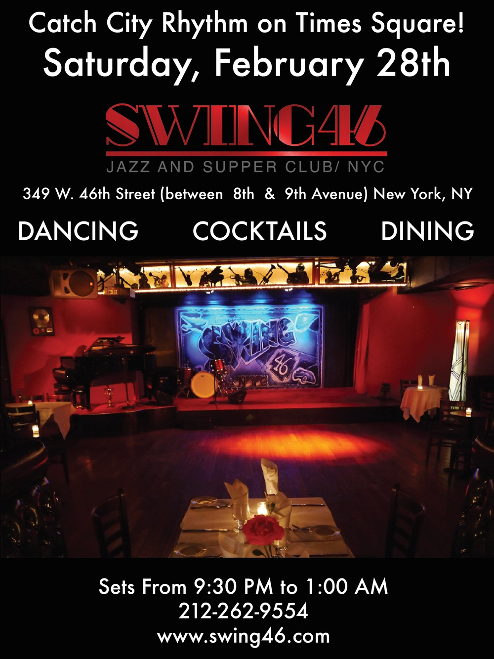 Swing 46 In New York City City Rhythm