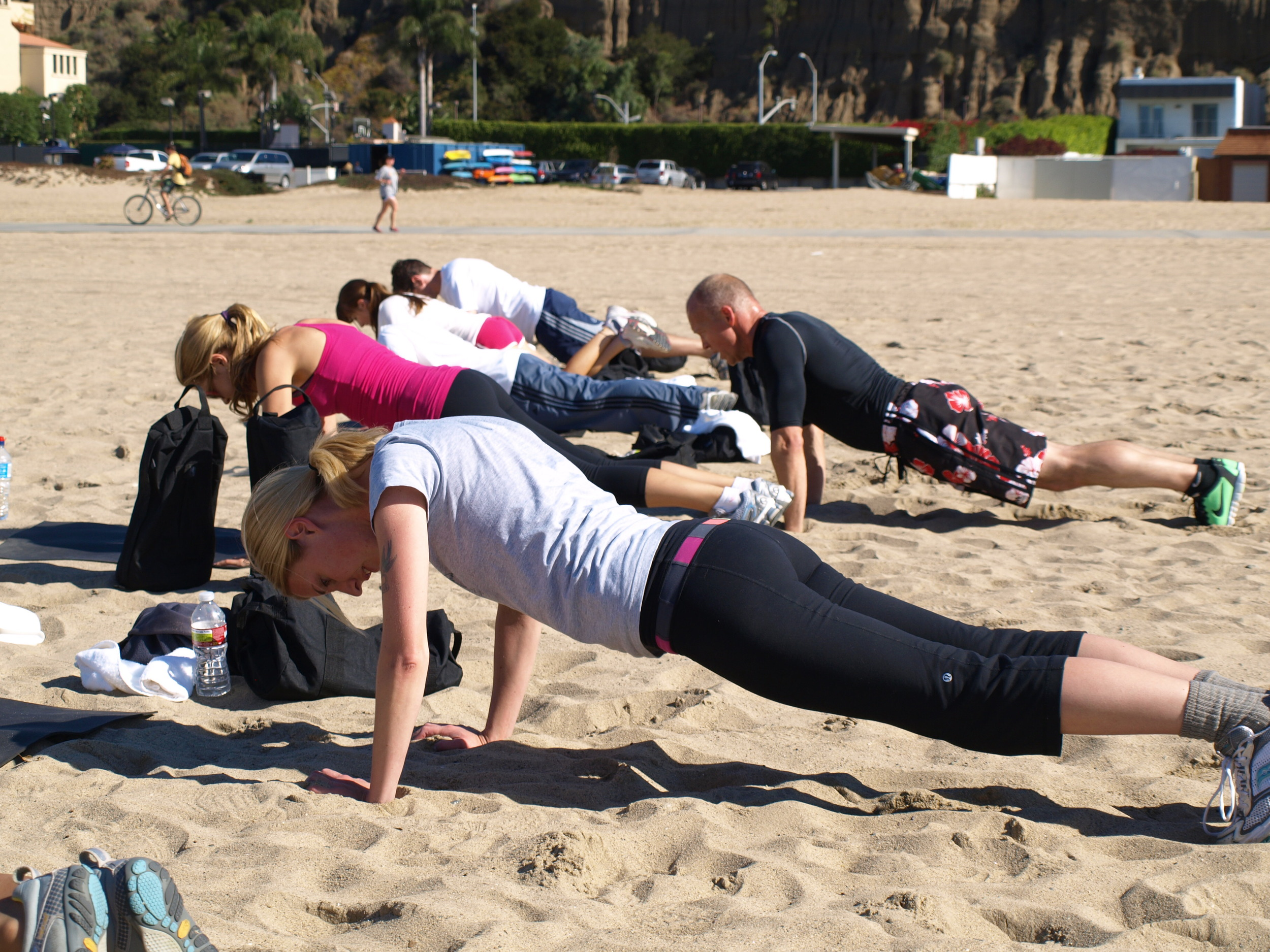 santa monica vacation workout fitness.JPG