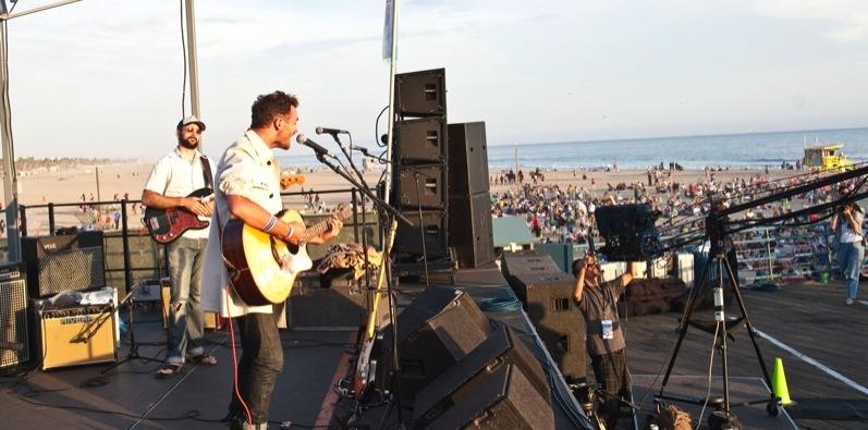 pier concert santa monica boot camp fun social