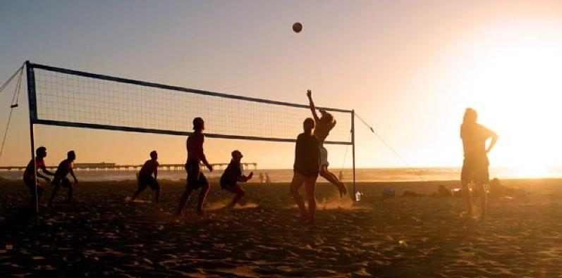 beach volleyball boot camp santa monica
