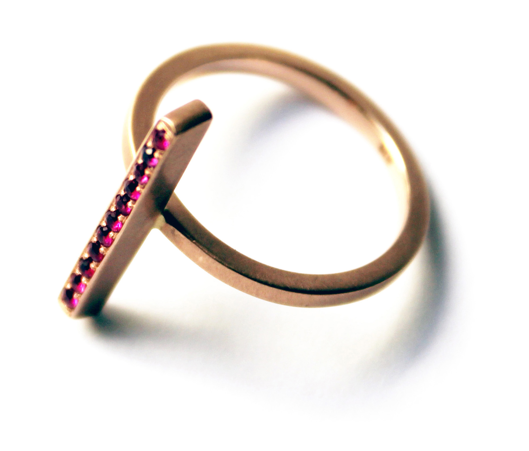 ROSE GOLD SHIV RING