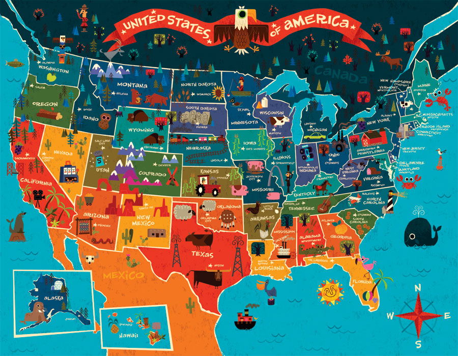 travel all 50 states map Travel Ben Arredondo
