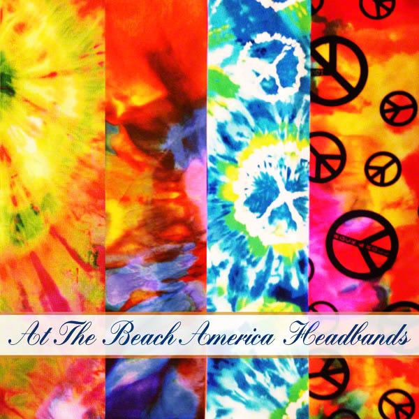 At the Beach America Top of the line Quality Fabric Headbands in the USA