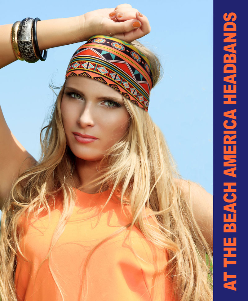 Glamorous Fashion and Beachy Headbands from At the Beach America