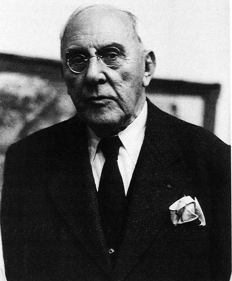 Josef Hoffman Portrait