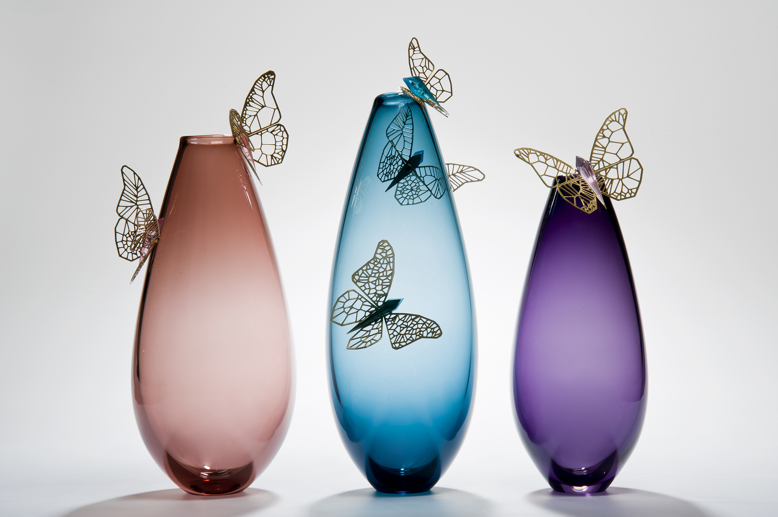 Les Ateliers Courbet Hanne Enemark Glass Blowing Shop Vessels Vases Crystal Cutting Decorative Objects