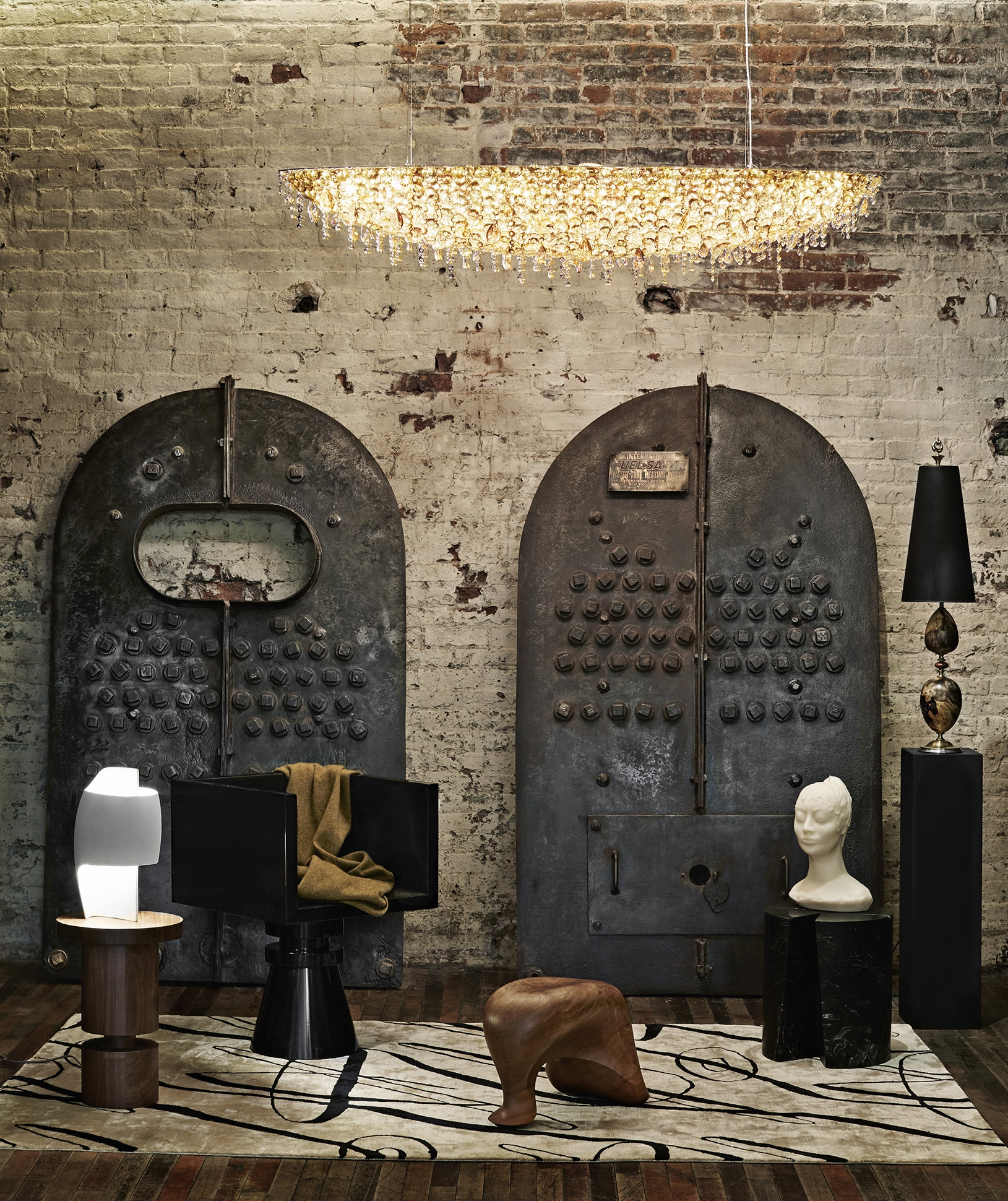Les Ateliers Courbet lolli e memmoli anna karlin aldo bakker thierry dreyfus serge poliakoff silk rugs furniture lighting home accessories kriest