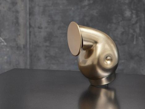 Aldo Bakker Pivot Cast Bronze Pouring Objet d'Art Les Ateliers Courbet