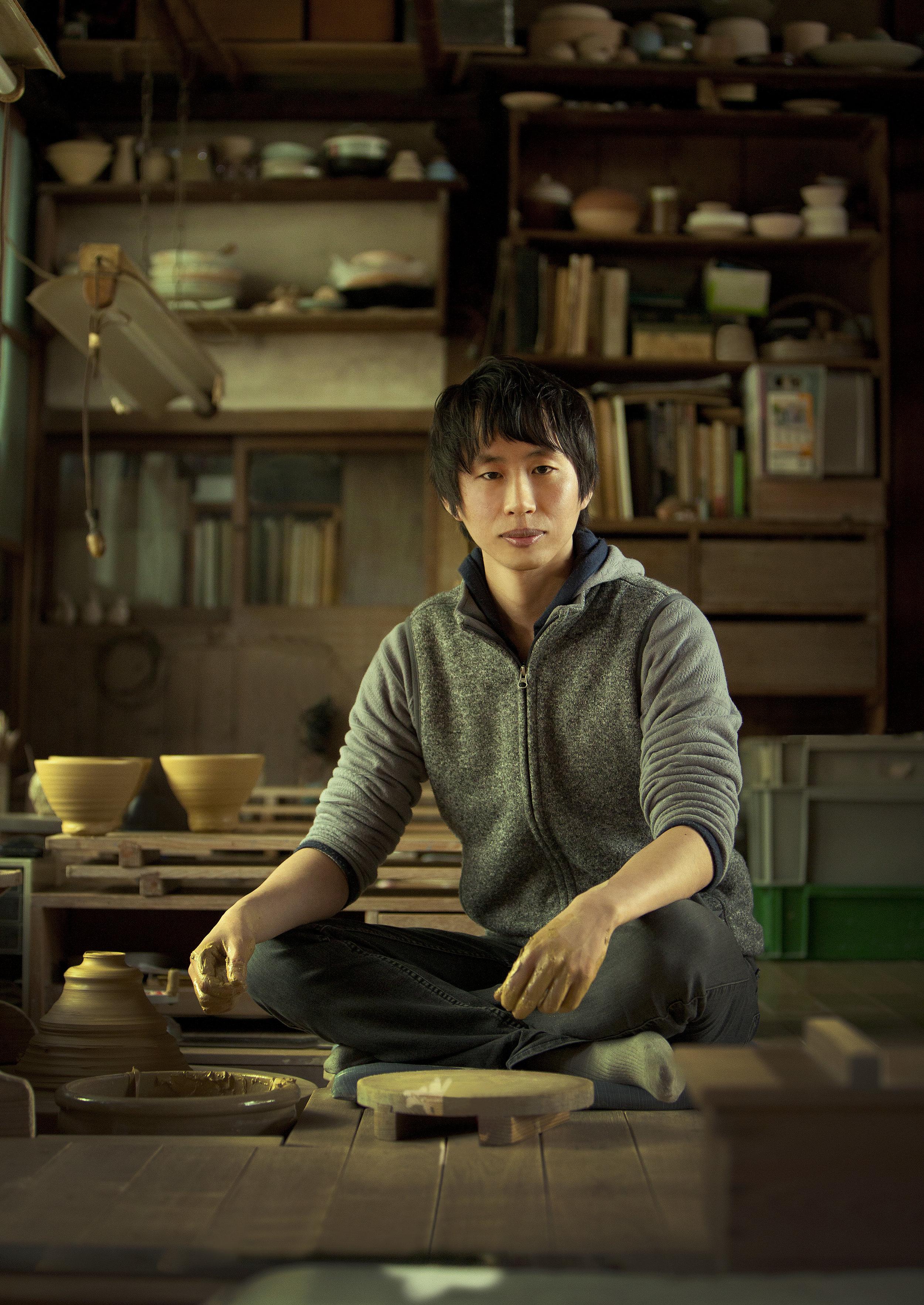 Asahiyaki Les Ateliers Courbet Portrait Kyoto