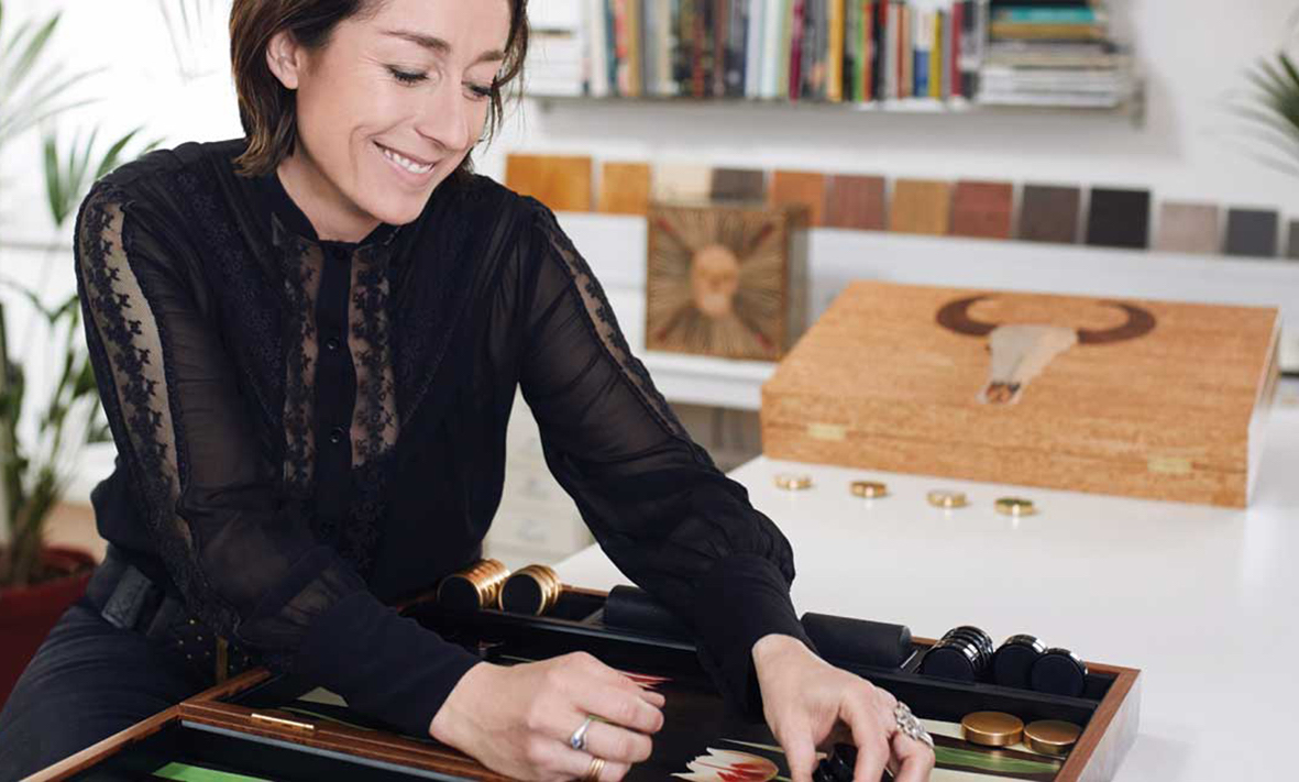 Alexandra Llewellyn Portrait - Les Ateliers Courbet