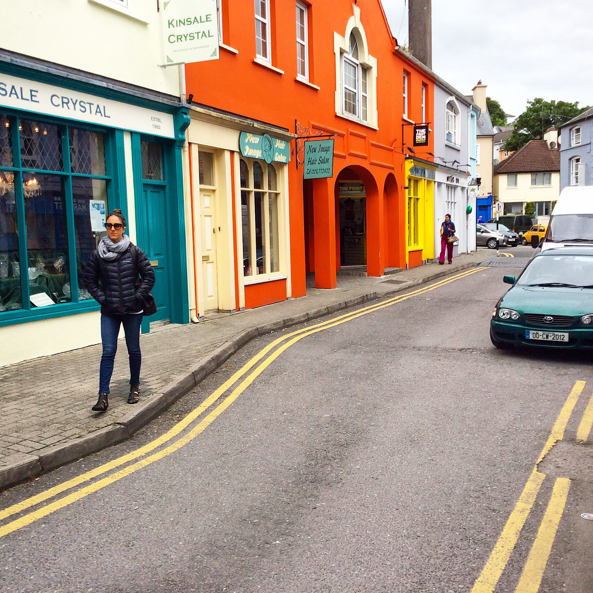 Walking Kinsale.