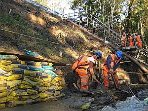 barnehurst  cutting stabilisation