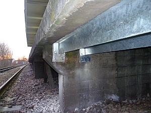Nunhead Station  Island Platform Strengthening