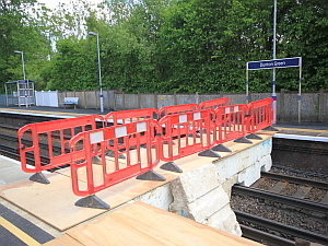 dunton Station   Polystyrene Plant Bridge