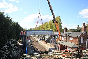 Weeley Station  Footbridge Replacement & Platform Enhancement