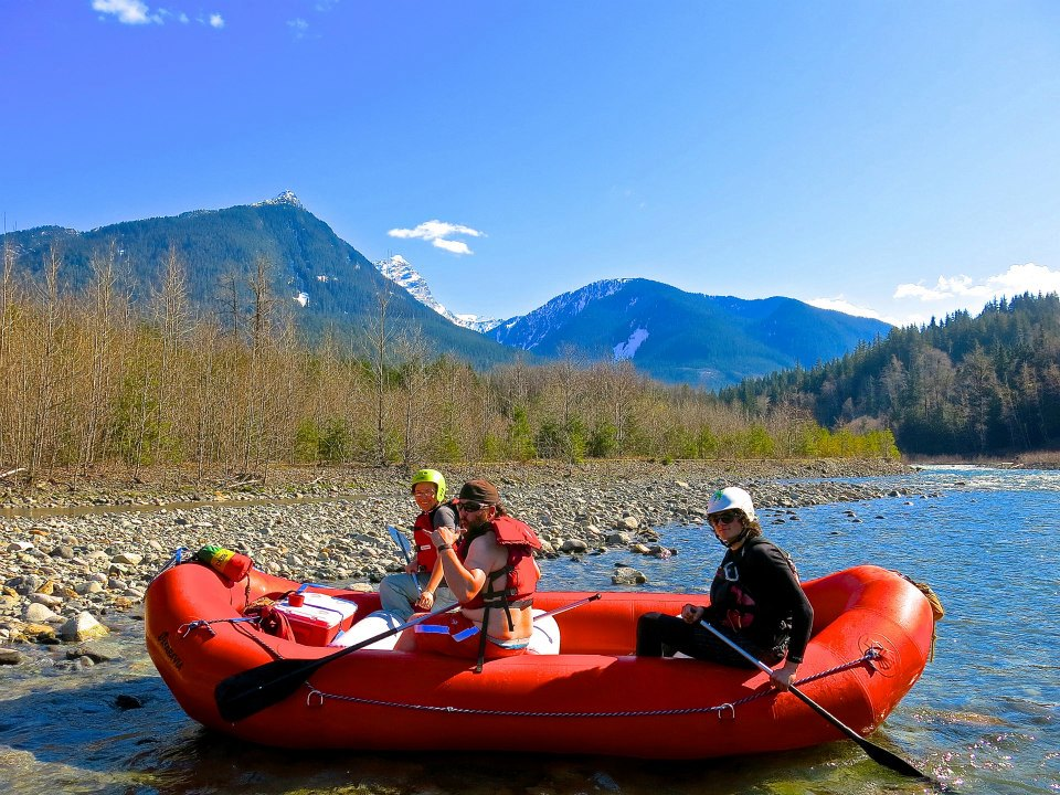 Rivers of the North Cascades can be one of two things; a private boater paradise, or a death trap... depending on how you prepare.