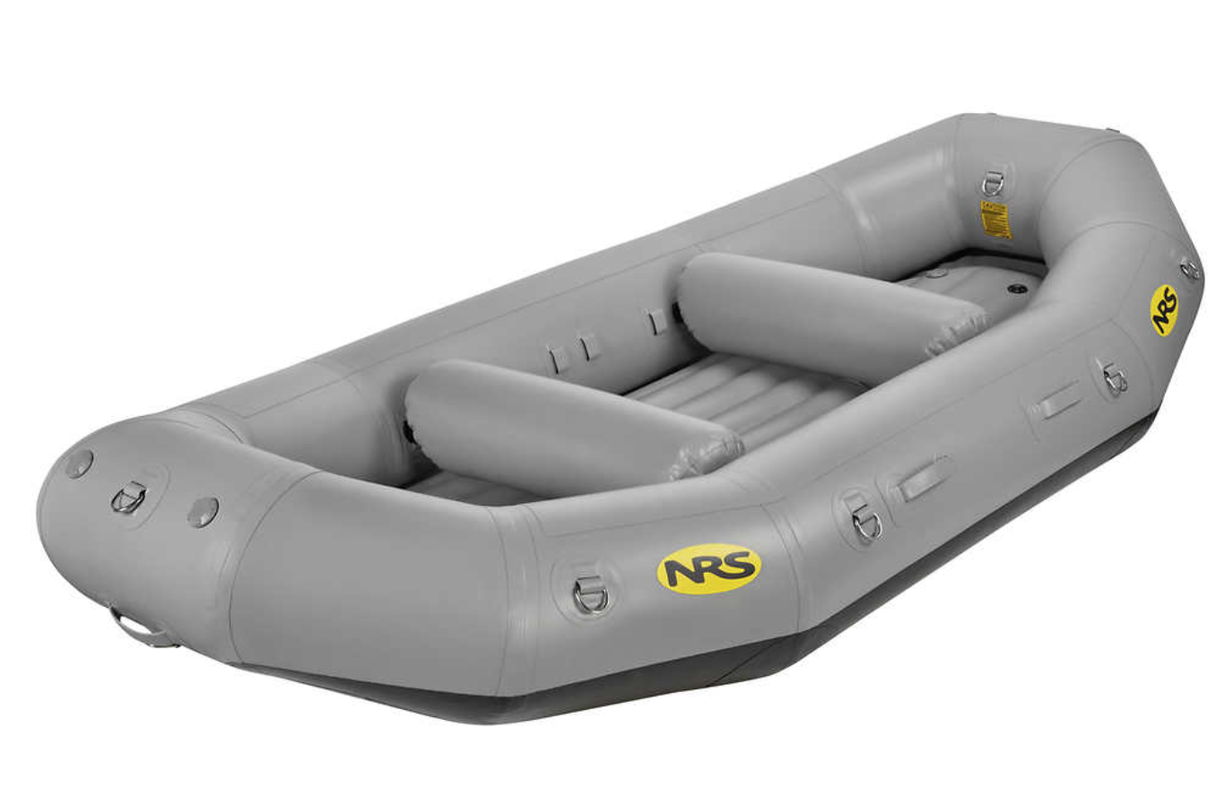 The NRS E-120 Whitewater Raft. Source:  https://www.nrs.com/product/85037.01/nrs-e-120d-self-bailing-rafts