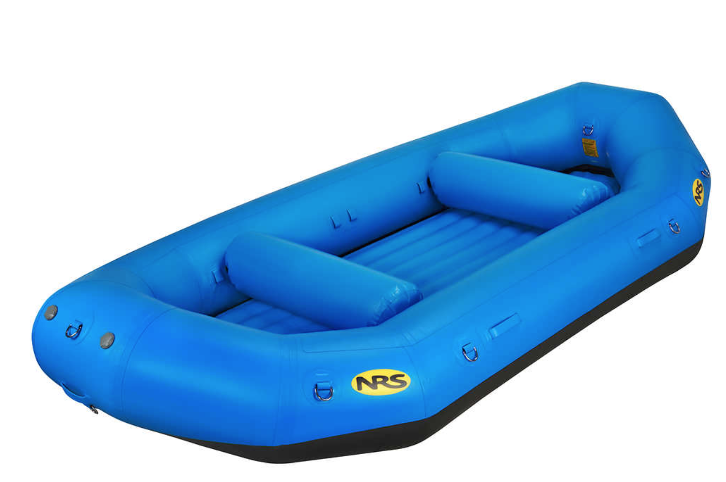 The NRS E-140 self bailing whitewater raft. Source:  https://www.nrs.com/product/1085/nrs-e-140-self-bailing-rafts