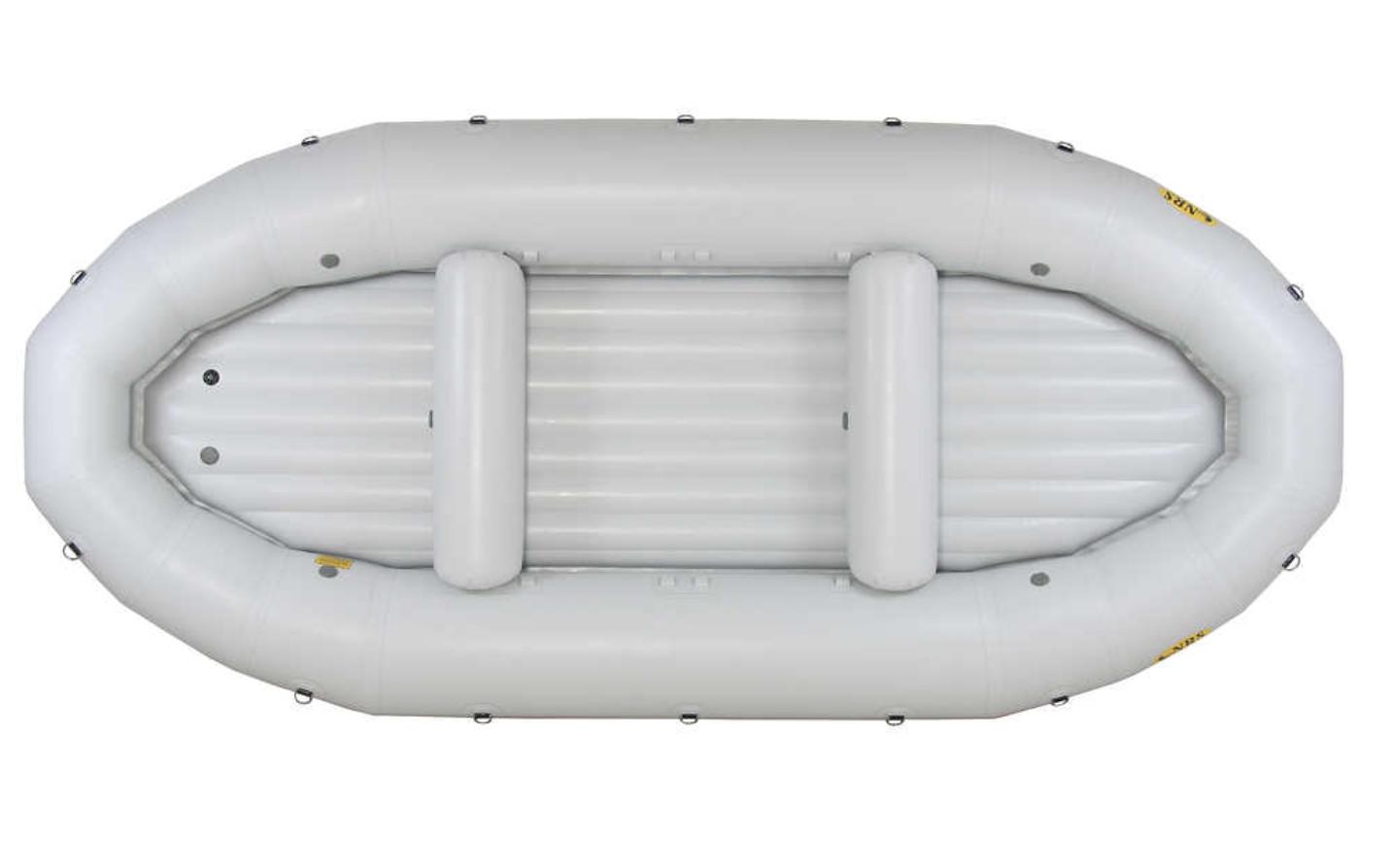 """The Riken designed NRS E-162D """"Nez Perce"""" whitewater raft. Source:  https://www.nrs.com/product/1189/nrs-e-162d-nez-perce-self-bailing-rafts"""