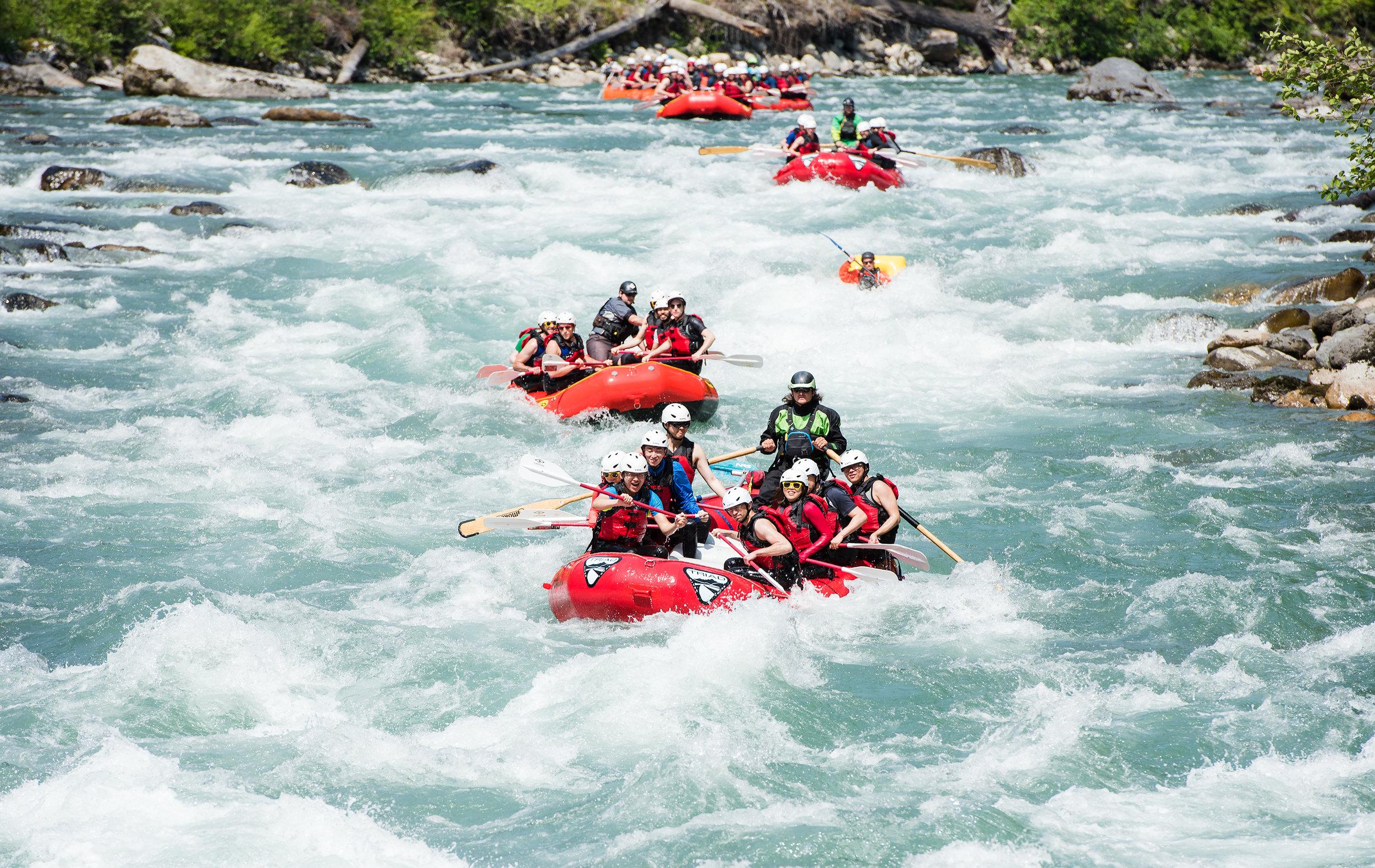 sauk river whitewater rafting