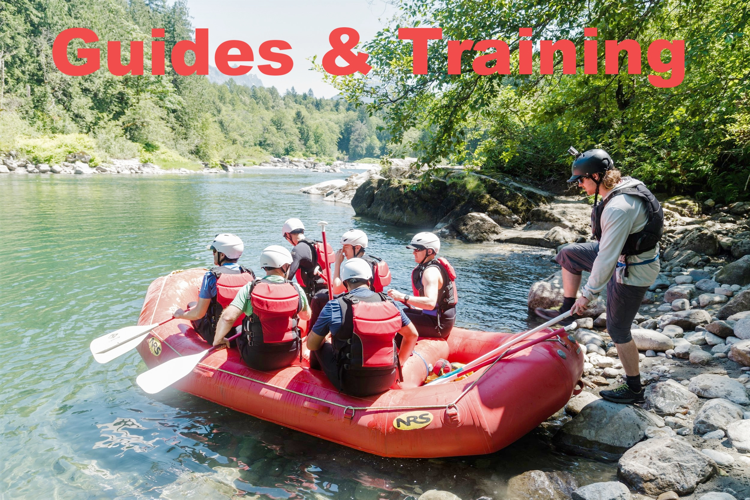 whitewater river guide training