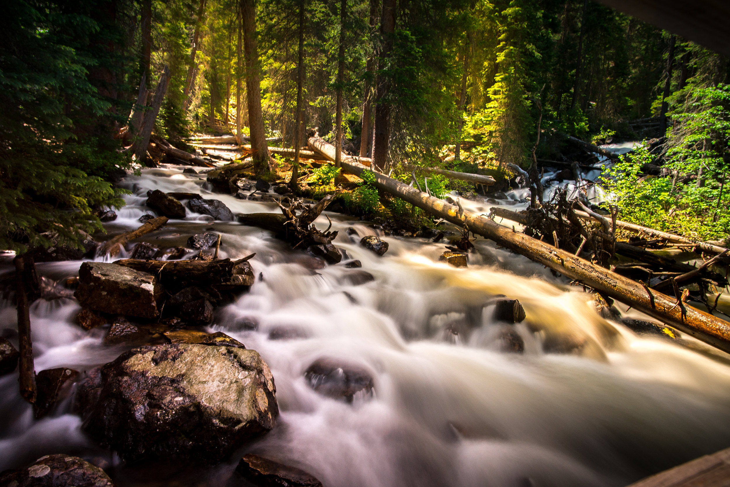 One fallen rock or log can make a river completely impassable.