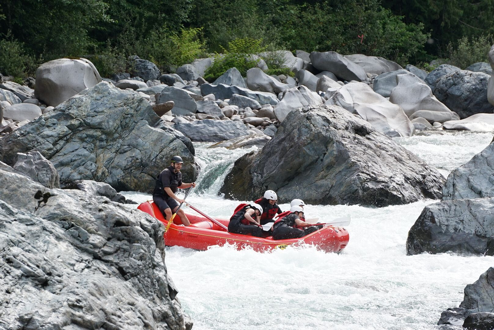 A good rafting story makes you feel as though you ran the wave-train or fished out the swimmers yourself.