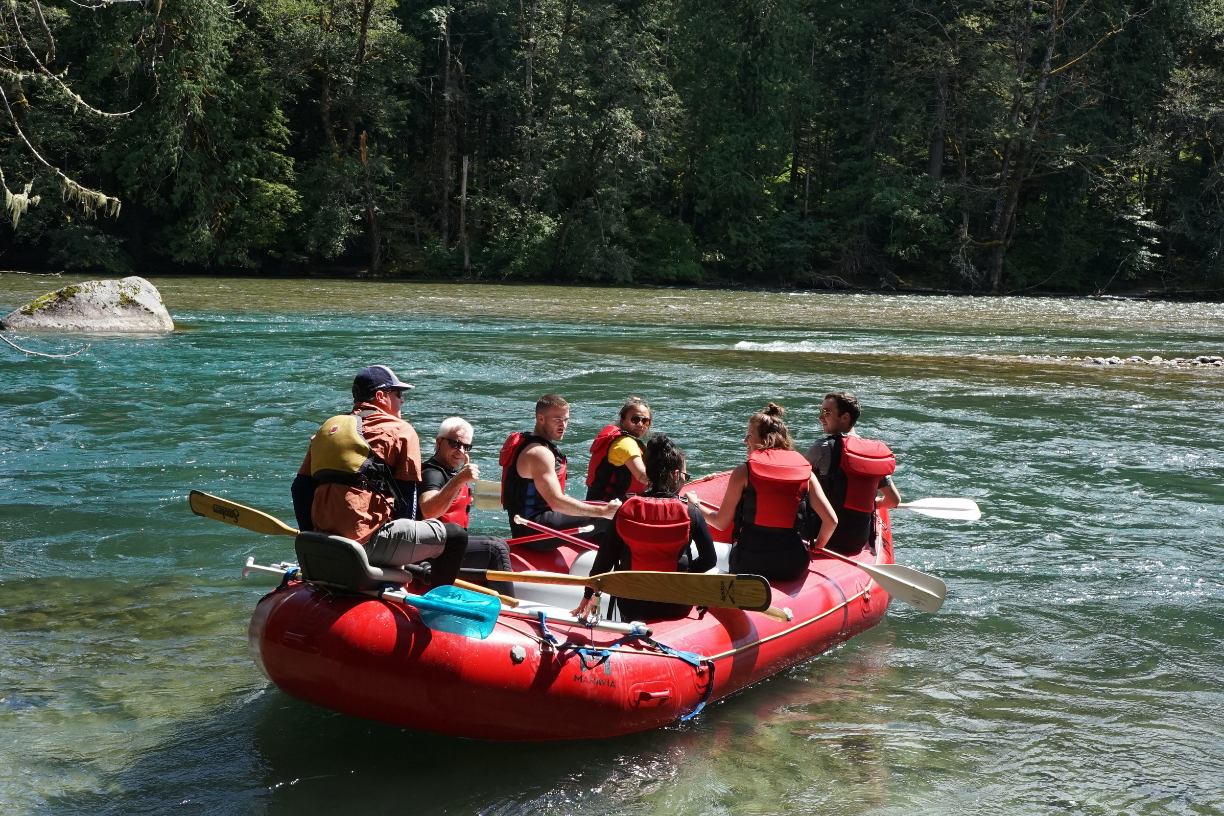 There are many more reasons to go river rafting other than just because it's fun!
