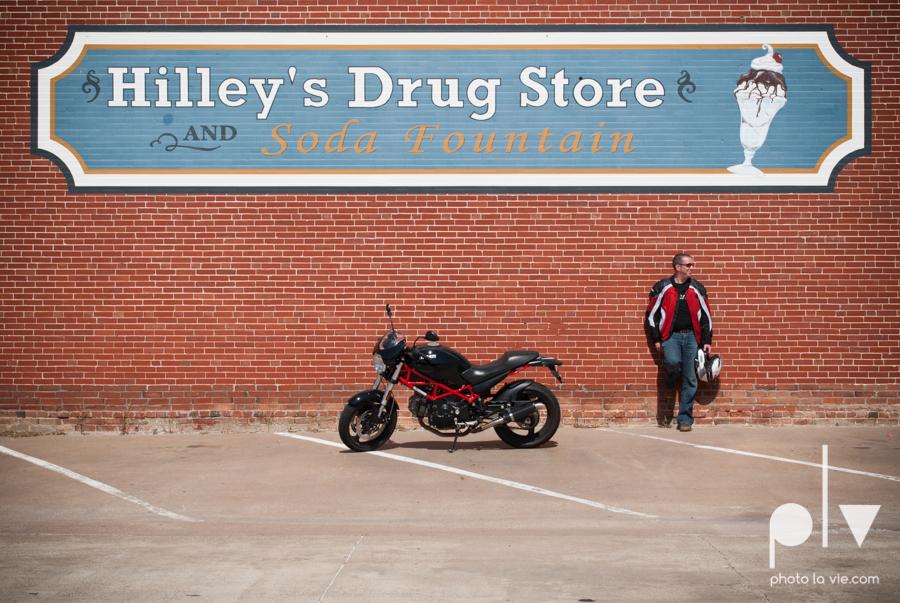 Tyler Ducati Monster DFW Texas motocycle bike jacket helmet red black vintage outdoors Sarah Whittaker Photo La Vie-2.JPG