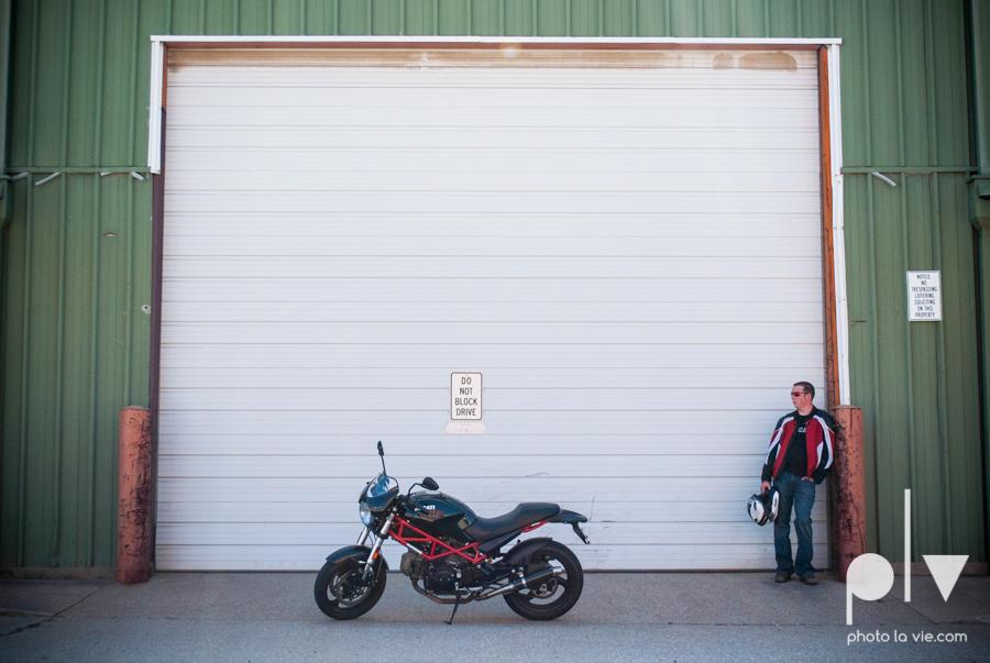 Tyler Ducati Monster DFW Texas motocycle bike jacket helmet red black vintage outdoors Sarah Whittaker Photo La Vie-4.JPG