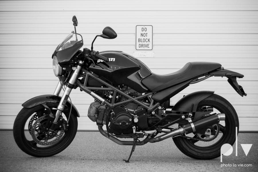 Tyler Ducati Monster DFW Texas motocycle bike jacket helmet red black vintage outdoors Sarah Whittaker Photo La Vie-5.JPG