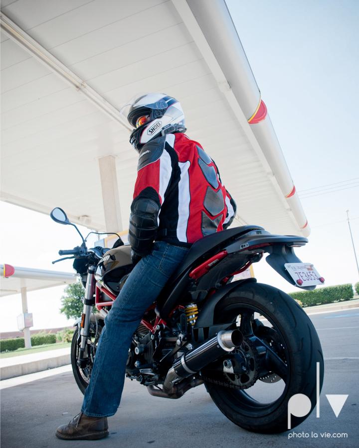 Tyler Ducati Monster DFW Texas motocycle bike jacket helmet red black vintage outdoors Sarah Whittaker Photo La Vie-11.JPG