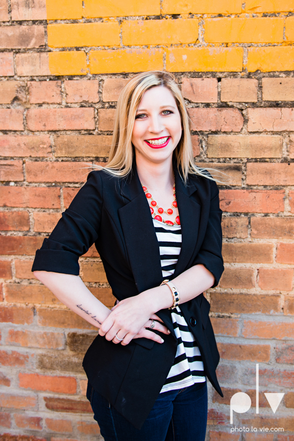 Dainty Dahlias Wedding Event Planner Team Brittany Simmons Katie Lane DFW Stockyards urban color wall brick party headshot Sarah Whittaker Photo La Vie-3.JPG