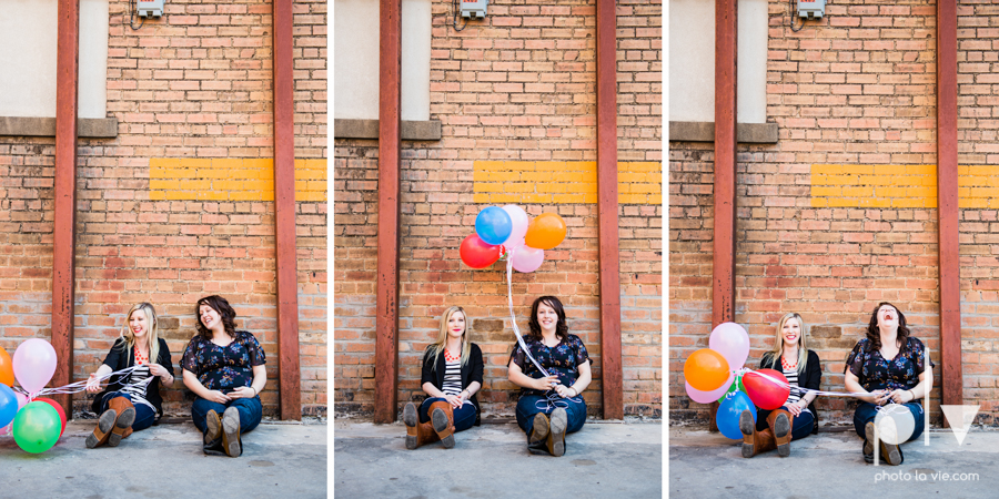 Dainty Dahlias Wedding Event Planner Team Brittany Simmons Katie Lane DFW Stockyards urban color wall brick party headshot Sarah Whittaker Photo La Vie-6.JPG
