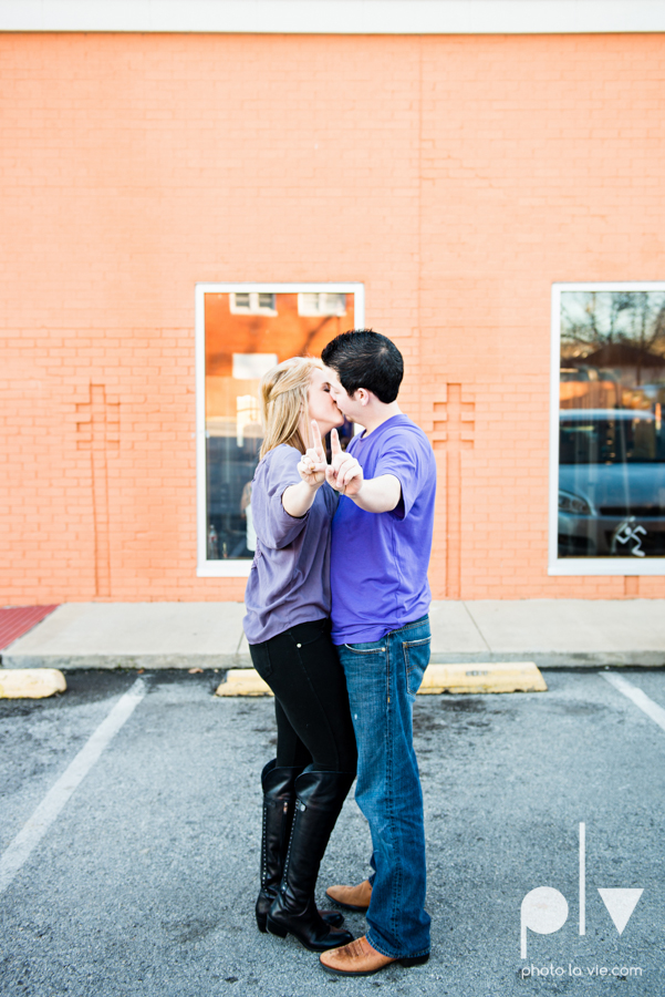 Kennedy Dillon Bishop Arts District Dallas DFW couple Senior tarleton purple boots redhead Sarah Whittaker Photo La Vie-7.JPG