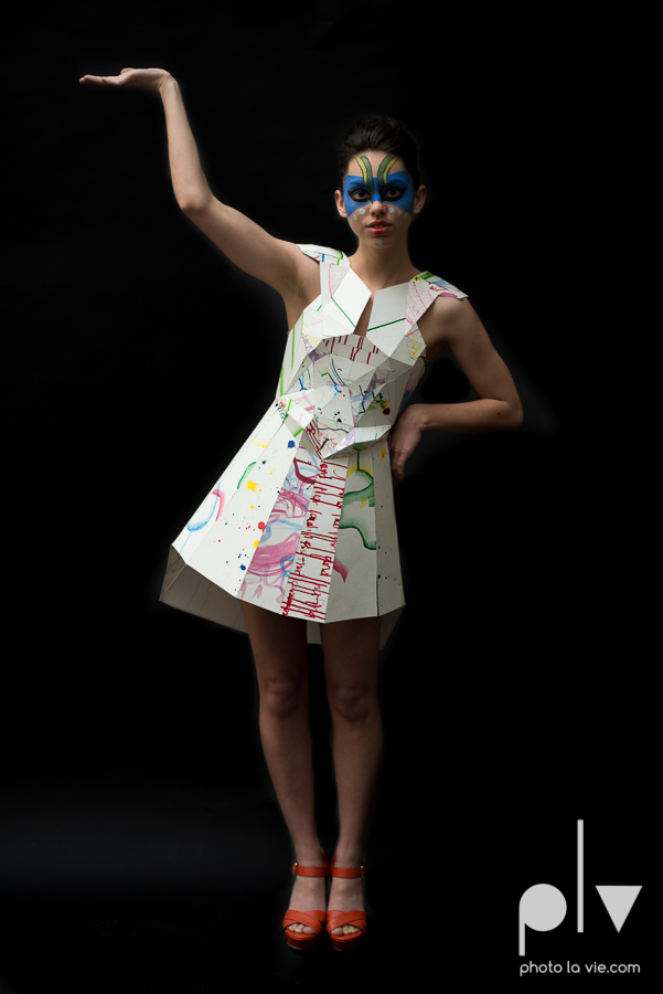Erica Model Paper Dress geometric editorial fashion haute couture Secret make up Photo La Vie by Sarah Whittaker-1.JPG
