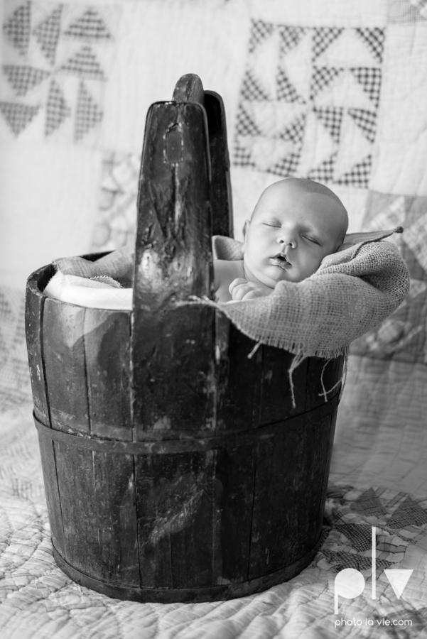 Levi newborn boy basket box chair superhero vintage blanket Sarah Whittaker Photo La Vie-2.JPG